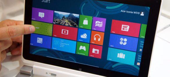 Acer Iconia Tab W510 Windows 8