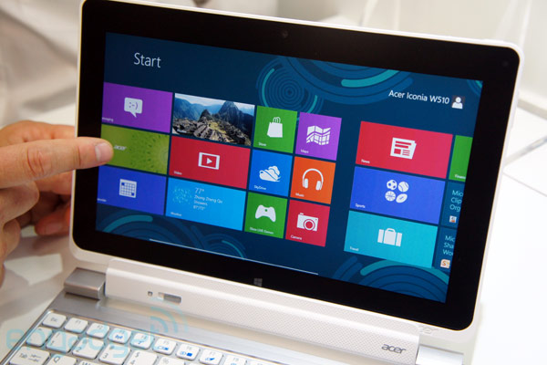 Acer Iconia Tab W510 Windows 8