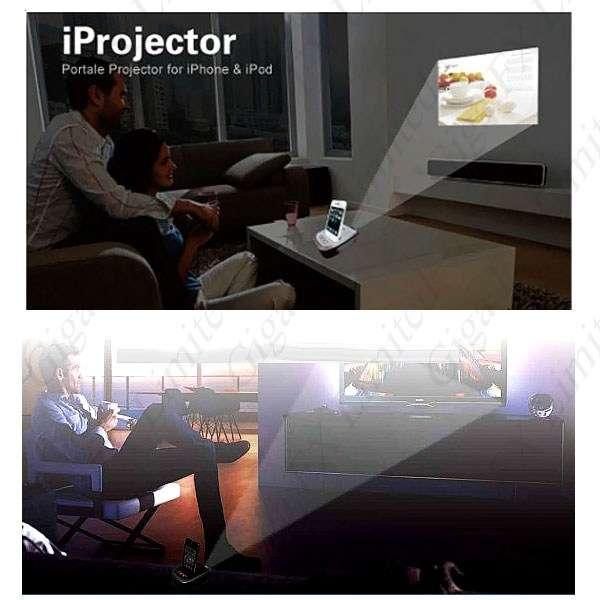 Mini projektor dla iPhone iPod TouchYMP-s80888