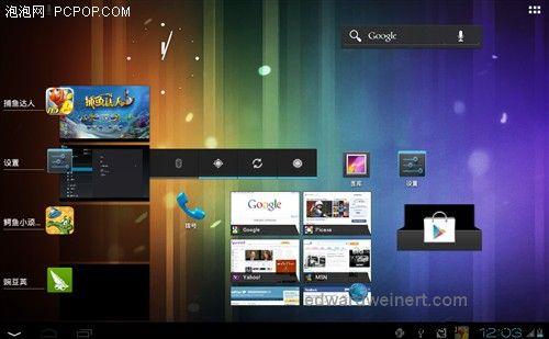 Ramos W30HD - ekran Android 4.0