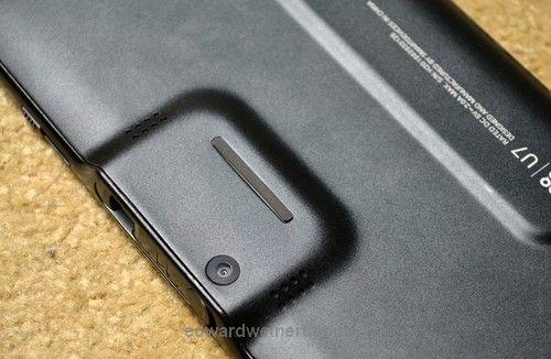 SmartQ U7 - tylny aparat