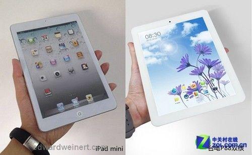 iPad Mini vs Teclast P88
