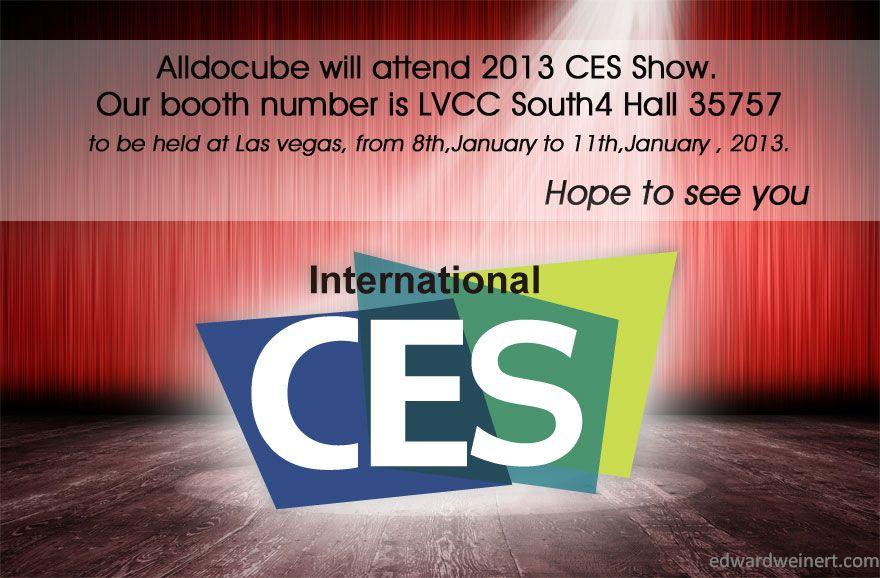 Alldocube CES 2013 Las Vegas