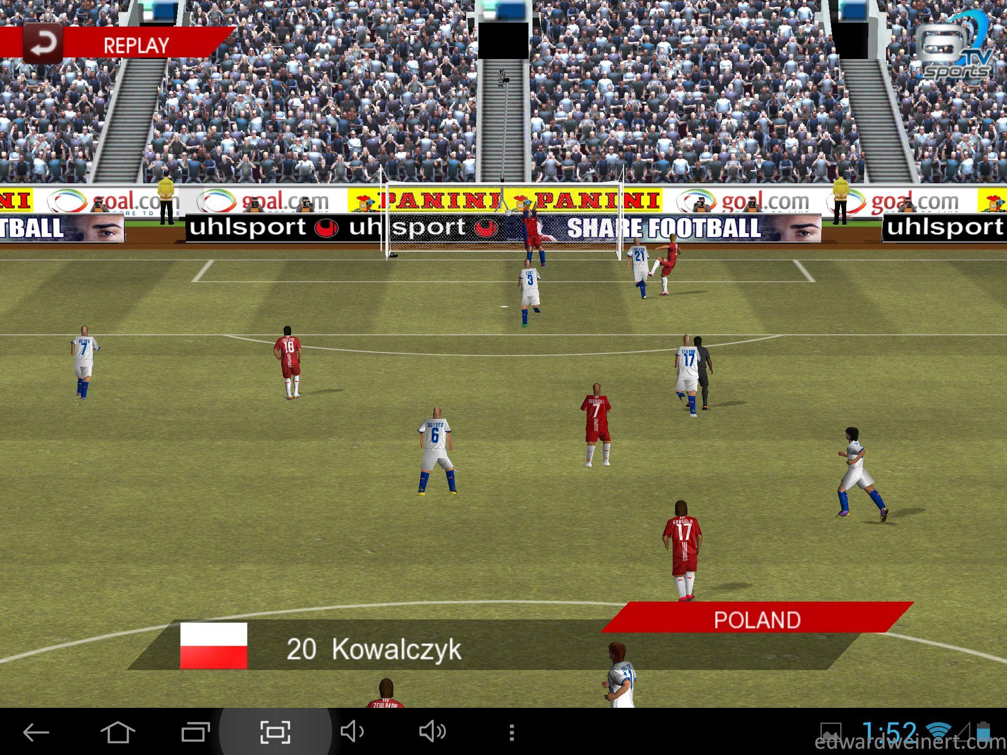 Onda V972 Real Football 2012