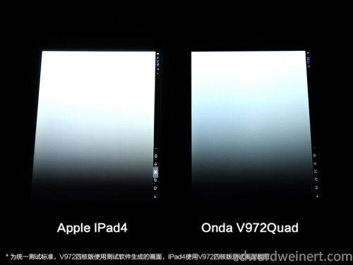 Onda V972 vs iPad4 1