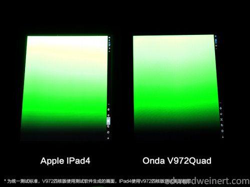 Onda V972 vs iPad4 4