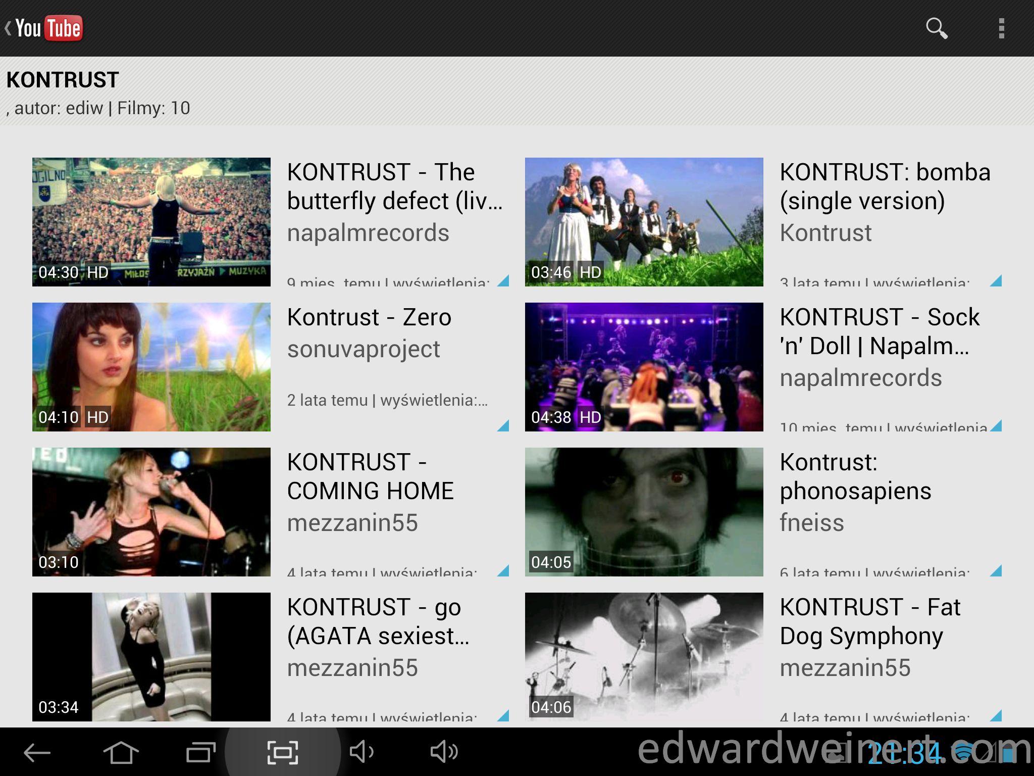 Onda V972 Youtube