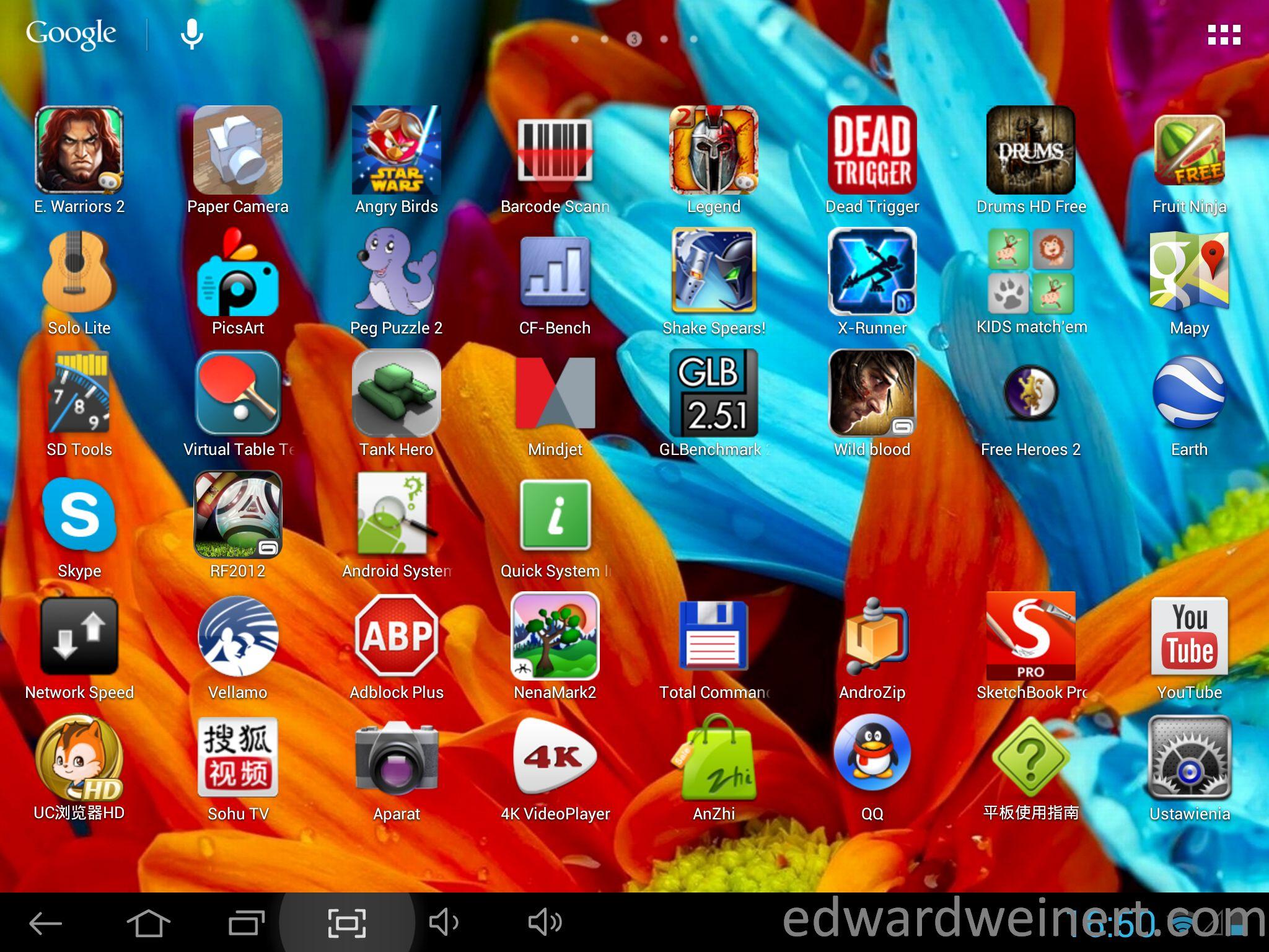 Onda V972 desktop