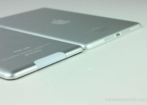 Teclast P78 vs iPad Mini - 1