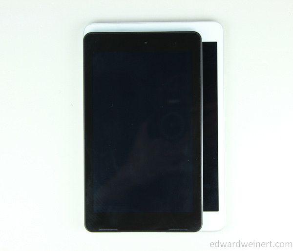 Teclast P78 vs iPad Mini - 2