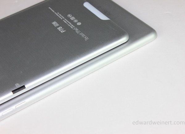 Teclast P78 vs iPad Mini - 4