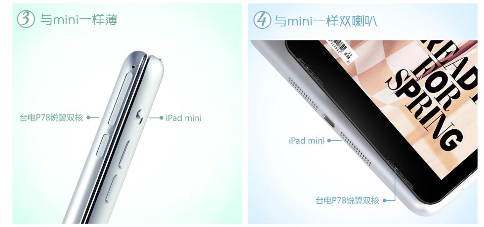 Teclast P78 vs iPad Mini - 6