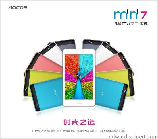 Aocos PX72 3G 1