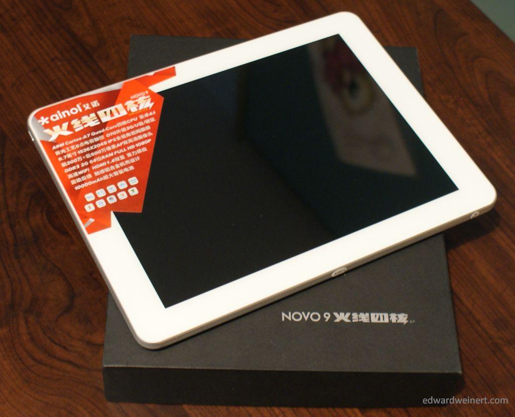 Promocja! Ainol Novo9 Spark z czterordzeniowym procesorem, Retiną i dużą baterią za 699 zł.