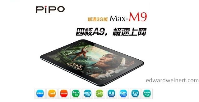 PIPO M9 3G slide