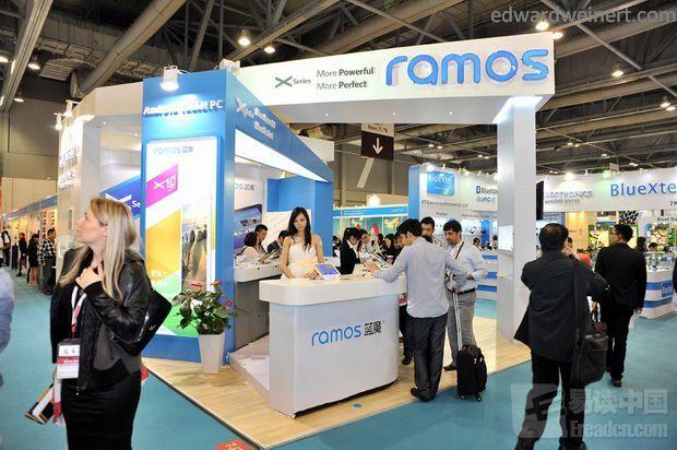 Nowe tablety Ramos X1 z Retiną i Ramos W30HDpro na wystawie w Hong Kongu