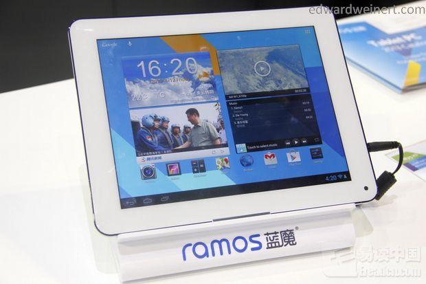 Poznajcie pełną specyfikacje tabletu Ramos X1 z procesorem Cortex-A15 Samsung Exynos 5250