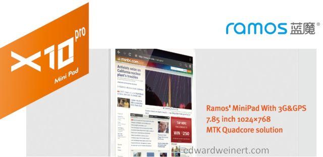 Ramos X10pro Mini Pad