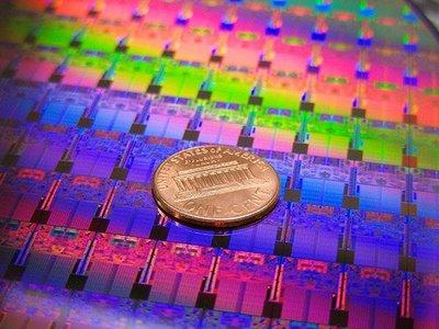 Modern 45-nanometer transistors