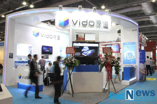 10,1 дюймовый планшет Vido W10 на базе Intel Atom Bay Trail и под управлением Windows 8