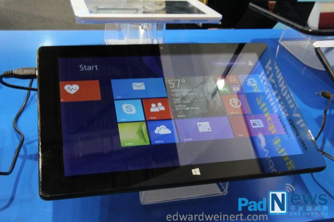 Tablet Vido W10 z procesorem Intel Atom Bay Trail i Windows 8