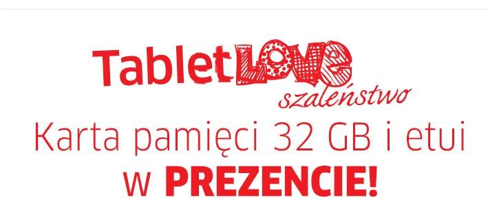 """Promocja """"TabletLOVE szaleństwo"""" w sklepie X-KOM – karta 32 GB i etui GRATIS"""