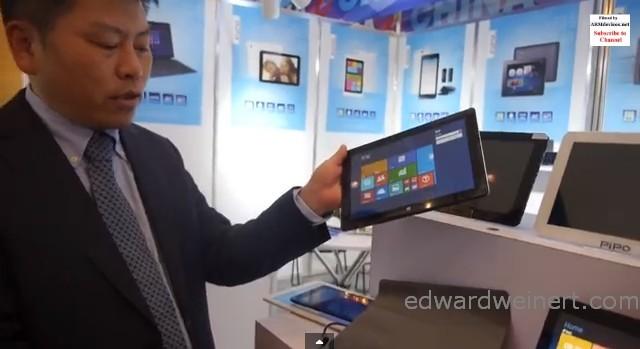 Nowości PIPO: tablet z Windows 8.1 i procesorem Intel BayTrail, tablet 9.7 cali Retina z 3G Huawei UltraStick, 7 cali FullHD i 3G