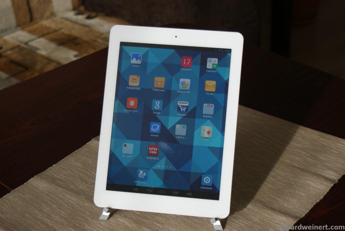 Android 4.4.2 z aktualizacją oprogramowania dla tabletu Onda V975m z procesorem AmLogic M802
