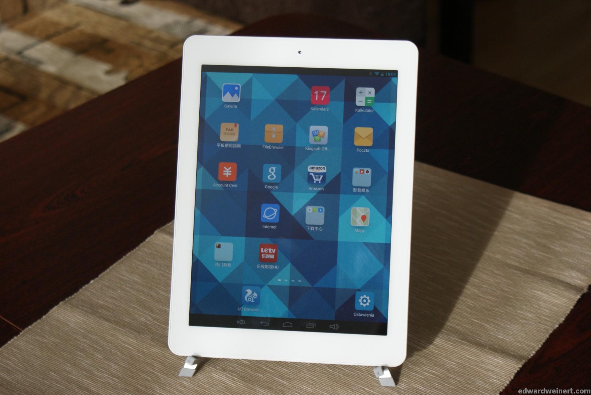 Recenzja tabletu Onda V975m z procesorem AmLogic M802 i wyświetlaczem Retina