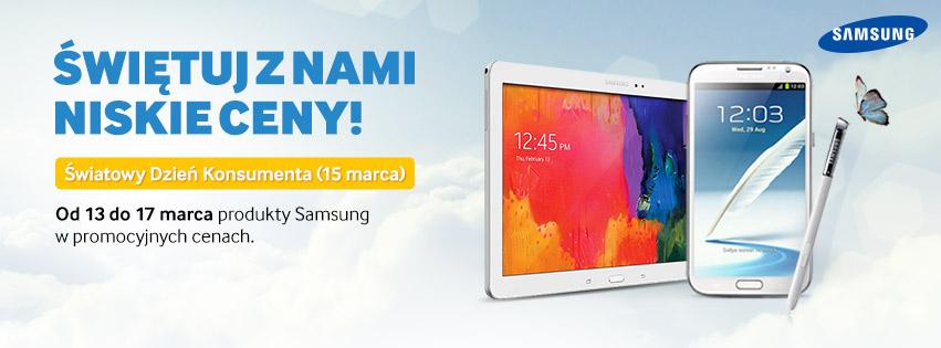 Promocja na tablety Samsung w sklepie X-KOM