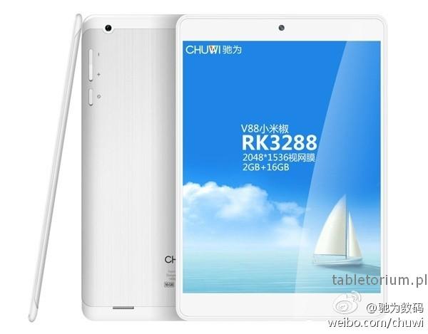 Tablety Onda V989 i Chuwi V88 z procesorem AllWinner UltraOcta A80 i Rockchip RK3288