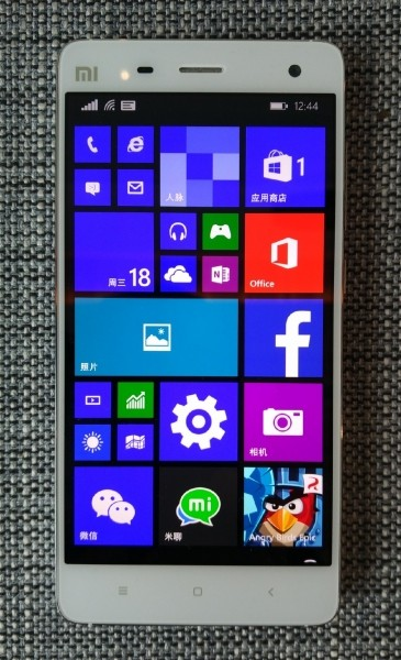 Smartfon Xiamo Mi4 z Windows 10